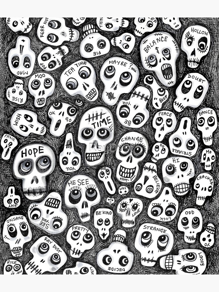 The Skull People by RayDust