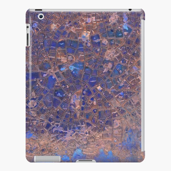Abstract Cracked Texture iPad Snap Case