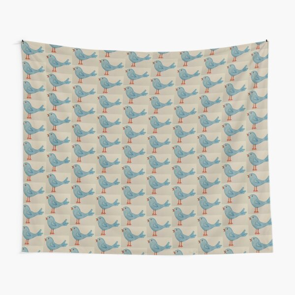 Bluebird of Happiness Tapestry