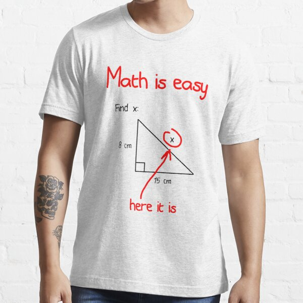 Math is Easy Essential T-Shirt