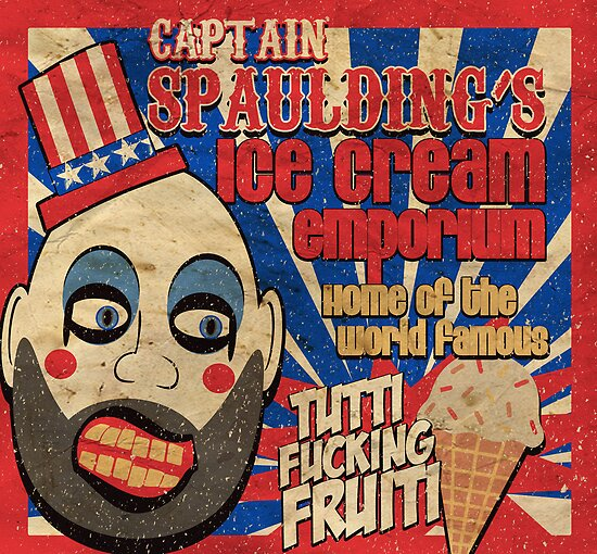 Capt. Spaulding's Ice Cream Emporium by devildrexl