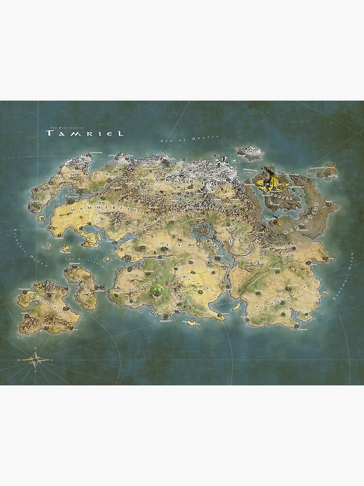 Tamriel Map by MapCreator