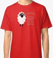 Yarnaholic lamb is on the way to rehab Classic T-Shirt