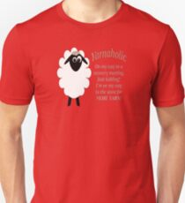 Yarnaholic lamb is on the way to rehab T-Shirt