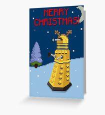 Dalek the Reigndeer Greeting Card