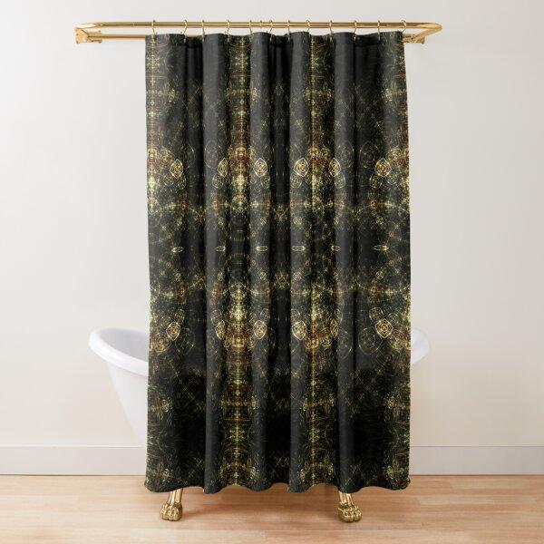 Matrix - Abstract Fractal Artwork Shower Curtain