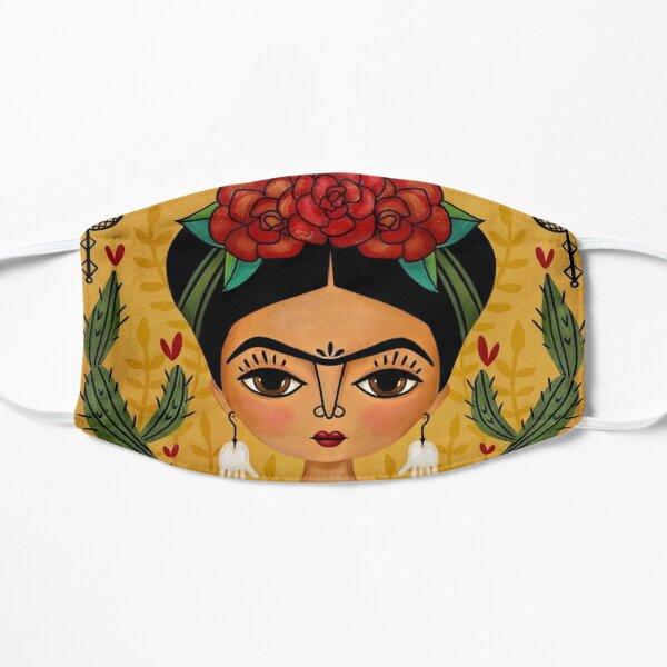 Illustration de Frida Kahlo Masque sans plis
