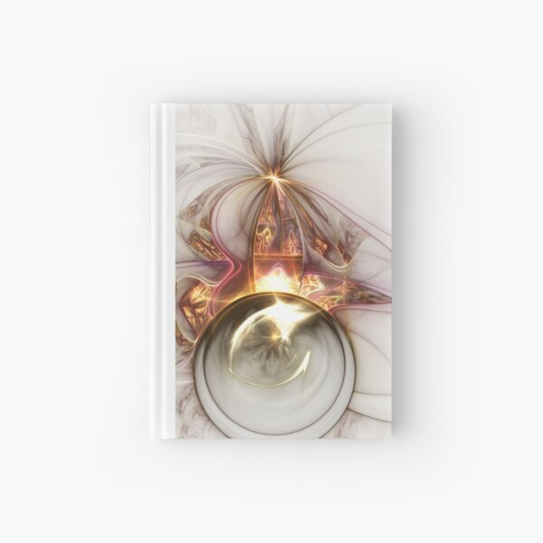 Oracle - Abstract Fractal Artwork Hardcover Journal