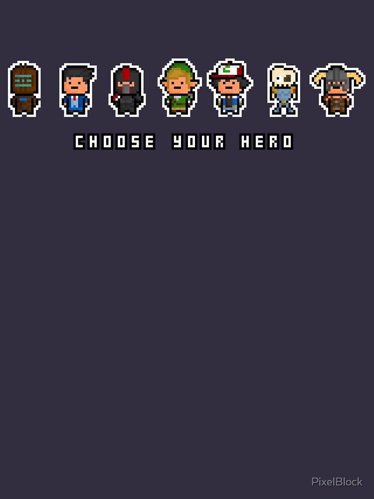 """Choose Your Hero"" - Arrangement Number 2 