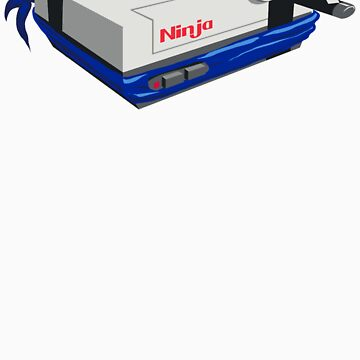 Ninja Entertainment System by kevlar51