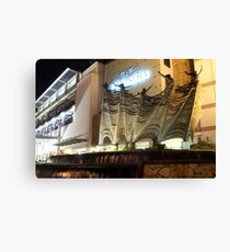 Plaza Indonesia (by night) Canvas Print