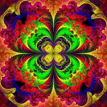 twisted rainbow scream by LoreLeft27
