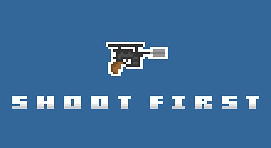 """""""Shoot First"""" - Han Solo  by PixelBlock"""