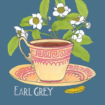 Earl Grey tea by francesrosey