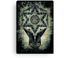 Sacred Geometry for your daily life- SRI YANTRA Canvas Print
