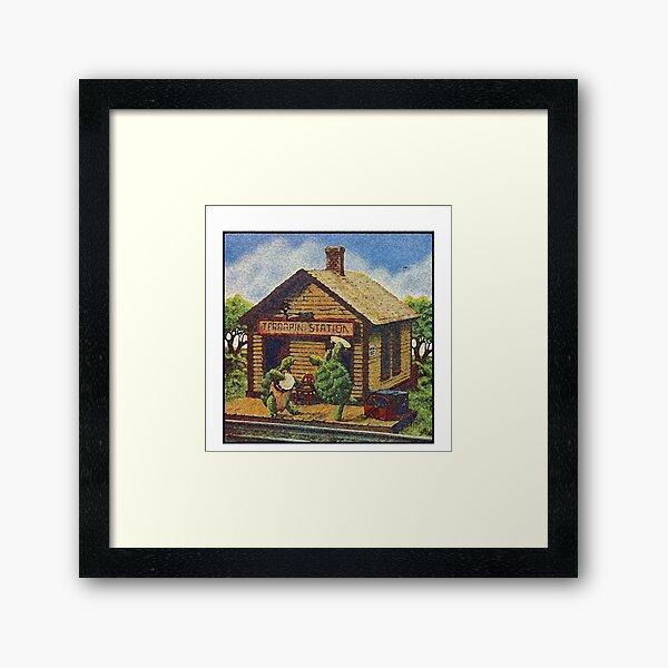 Grateful Dead Terrapin Station Watercolor Design Framed Art Print