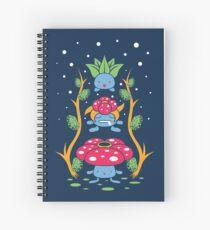 Kanto Forest Spiral Notebook