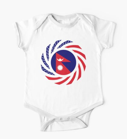 Nepalese American Multinational Patriot Flag Series Kids Clothes