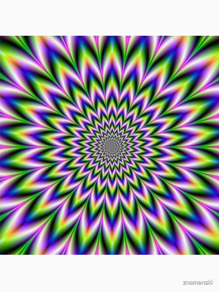 Psychedelic, Optical art, Op art, Vibration by znamenski