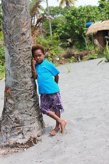 Shy Boy,  New Guinea  by BenClarkImagery