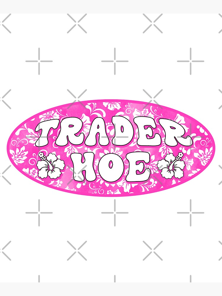 trader hoe by discostickers