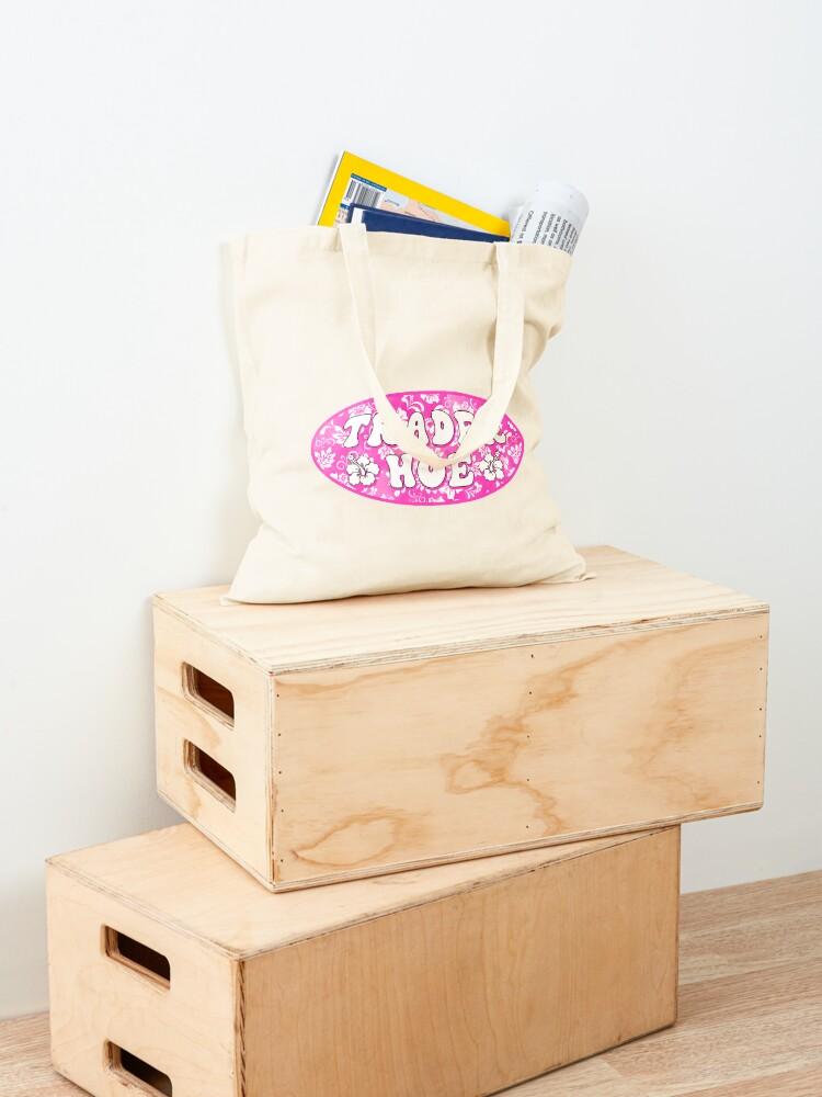 Alternate view of trader hoe Tote Bag