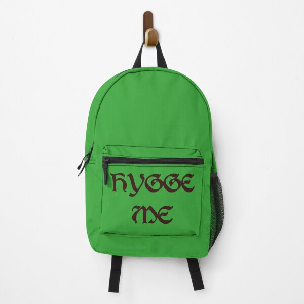 Hygge Me, a play on hug me Backpack