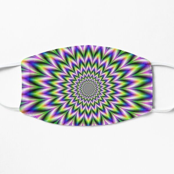 Psychedelic, Optical art, Op art, Vibration Flat Mask