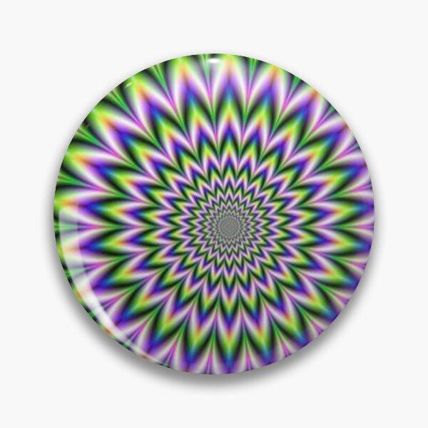 Psychedelic, Optical art, Op art, Vibration Pin