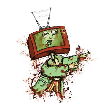 Television Zombie by MsMiscellaneous