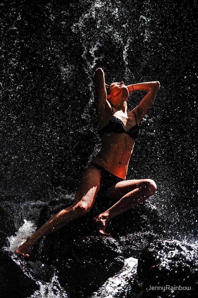 Trust. Anna at Eureka Waterfalls by JennyRainbow