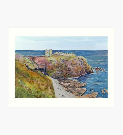 Dunnottar Castle Scotland Art Print
