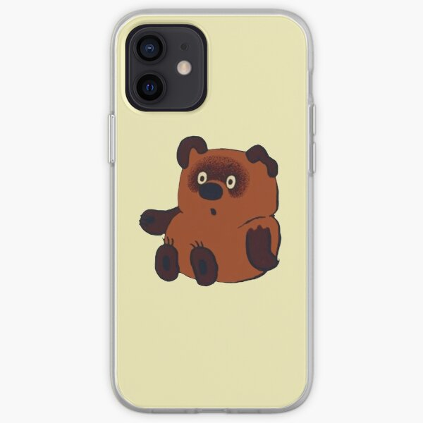 Винни Пух - Sitting iPhone Soft Case