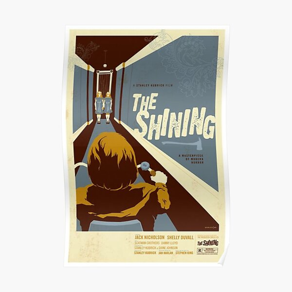 the shining classic film poster Poster