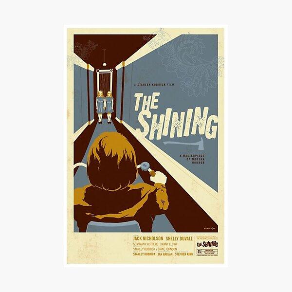 el brillante póster de la película clásica Lámina fotográfica