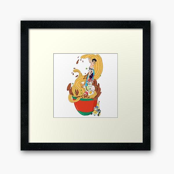 Surfin the Bowl, Baby Framed Art Print