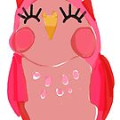 Pink Owl by annieclayton