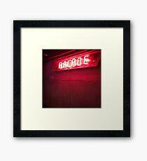 Arcade Framed Print