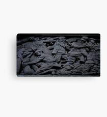War Memorial Plate Canvas Print