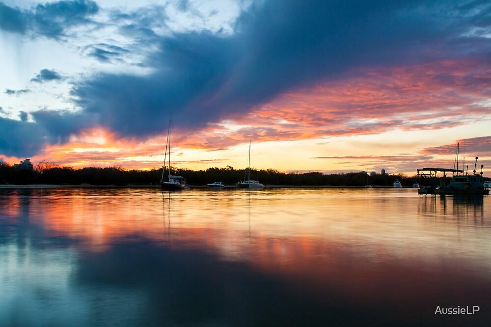 Mirror Sunset by AussieLP