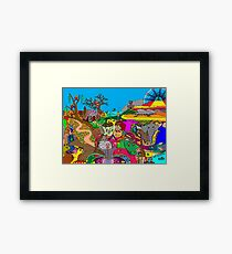 A World of Fantasy Framed Print