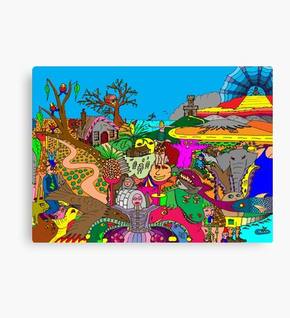 A World of Fantasy Canvas Print