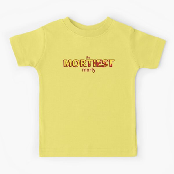 The Mortiest Morty Kids T-Shirt