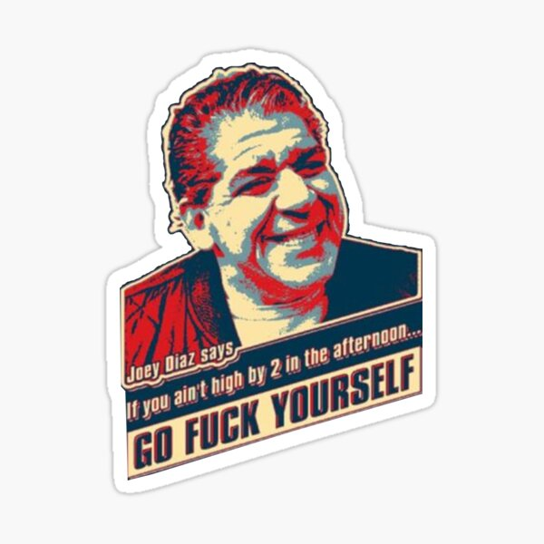 Joey Coco Diaz President 2020 Sticker