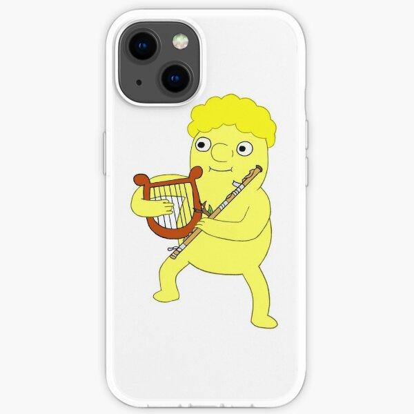lemonhope with harp and flute iPhone Soft Case