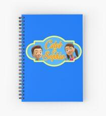 Caleb & Sophia (For Him) Spiral Notebook
