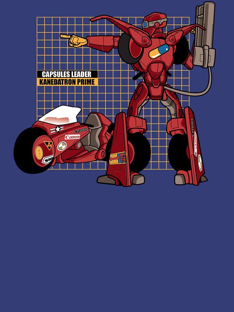 Kanedatron Prime by nikholmes