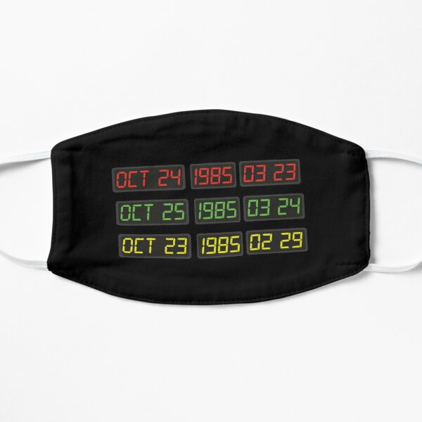 Back to the 80s by Time Travel Machine Mask