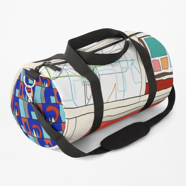 View from London Jubilee Line Duffle Bag