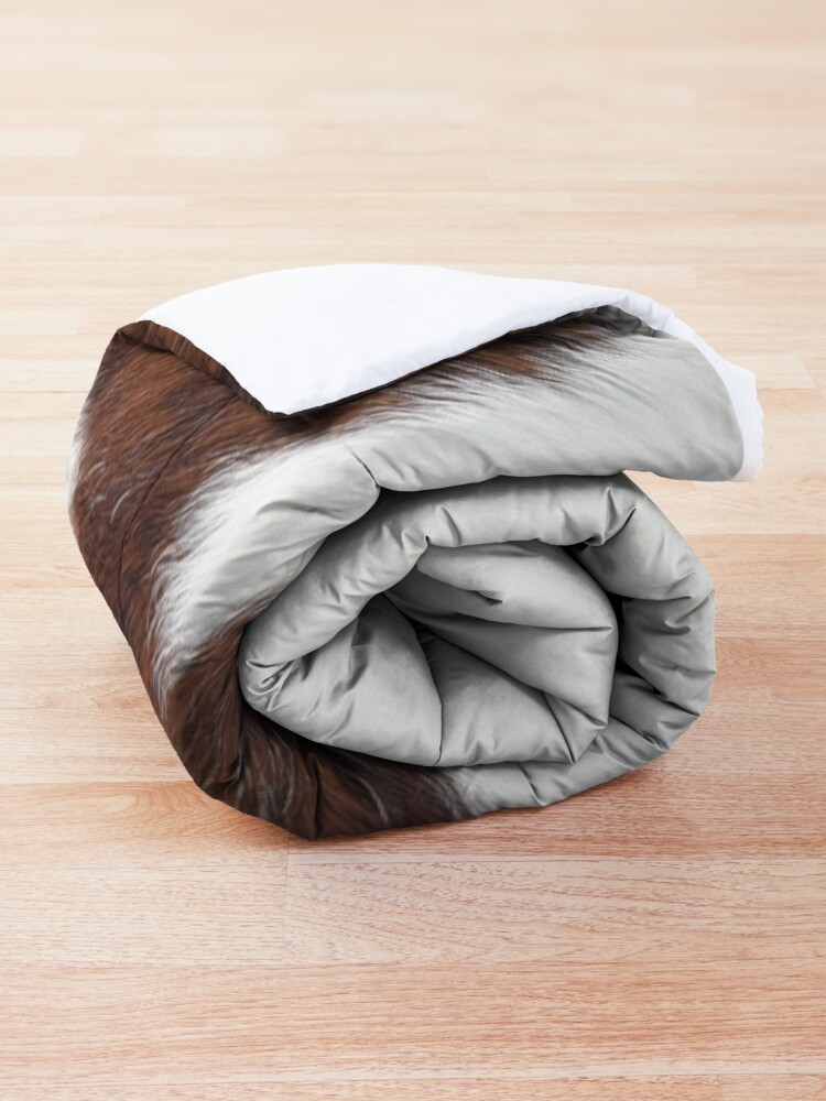 Alternate view of Brown Spotted Cowhide Comforter
